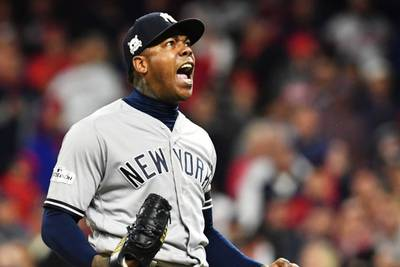 Coronavirus: New York Yankees relief ace Aroldis Chapman tests positive