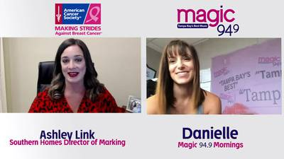 Danielle chats with Ashley Link about this year's virtual Making Strides Against Breast Cancer
