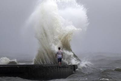 Photos: Tropical Storm Cristobal brings heavy rain, storm surge to US Gulf Coast